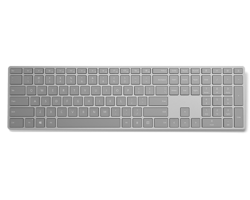 Microsoft Modern Keyboard with Fingerprint IDoard PS/2